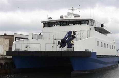 Sea Comfort is servicing the Gwynt y Mor project