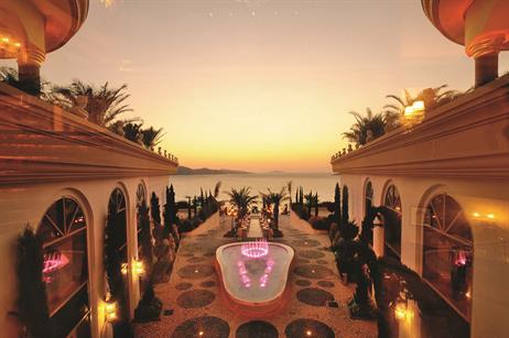 Jumeirah Bodrum Palace hotel, Turkey