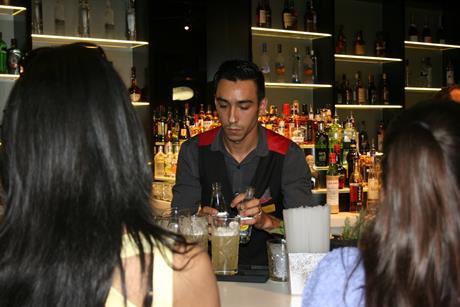 NY-LON Lounge Bar launch