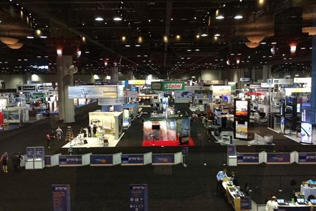 The three-day show had 400 exhibitors from across the wind sector