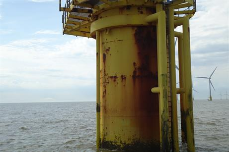 E.on's Scroby Sands has been in operation since 2004, using 30 2MW turbines