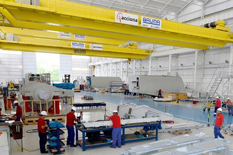 Brazil is the 3MW turbine's largest market by sales