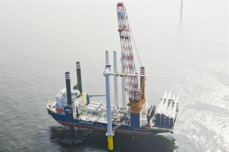 Aeolus will next be used at the 600MW Gemini project, also in the Netherlands (pic: Flying Focus)