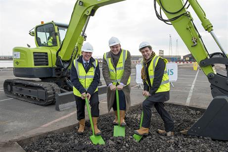 JANUARY: Siemens holds a ground breaking ceremony at its Green Port Hull facility in the UK. UK energy minister Ed Davey attended the event