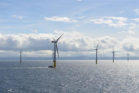 All 160 turbines have been installed at Gwynt y Mor