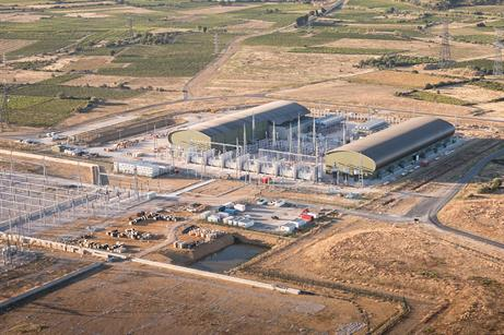 A HVDC link between France and Spain has been commissioned