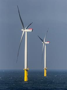 All 80 Siemens 3.6MW turbine have been connected to the grid