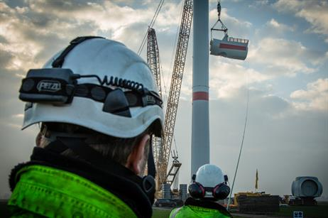 Siemens has installed two 6MW turbines at an onshore site