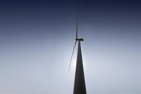The turbine has been designed for low-wind sites.