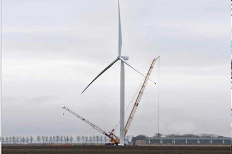 GE has installed the machine at a testing site in the Netherlands.