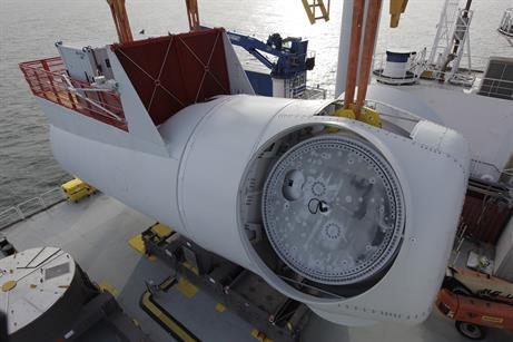 It is the first commercial project to use Siemens' 6MW turbine