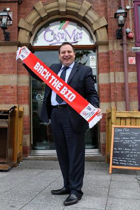 Francesco Mazzella of Casa Mia Leeds backs the Bid1.jpg