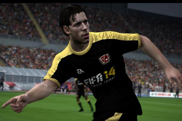 Ruud van Nistelrooy in game play
