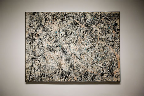Jackson Pollock's action painting. Madness and genius. It defines the upside of egomania. Sadly, the downside is bigger. Or is it?