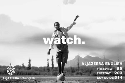 Al-Jazeera Freeview Ad