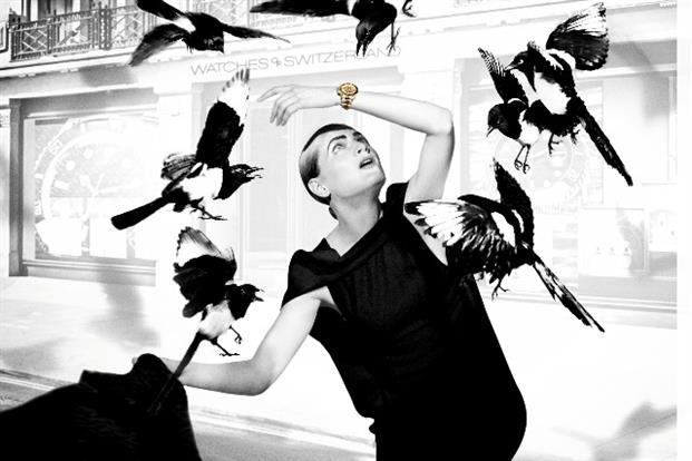 Watches of Switzerland campaign inspired by Hitchcock's 'The Birds'