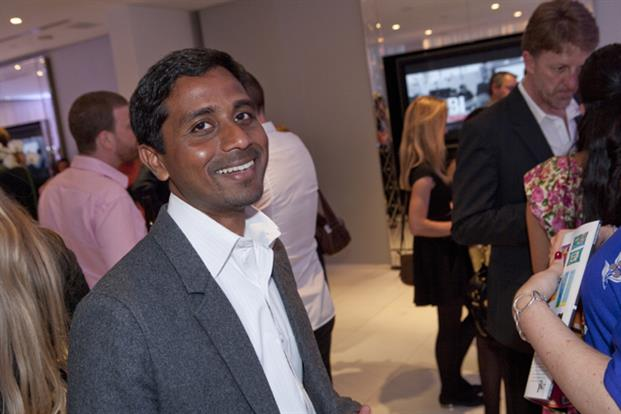 SapientNitro's Nigel Vaz has a winning smile for the camera