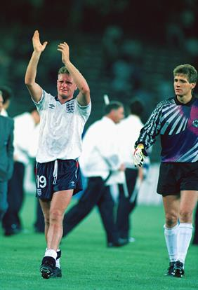 Gazza, World Cup 1990 Those old enough will remember the tears. And the penalties. But for me it was all about Gazza. An enigma on and off the field, he was the hero, the spark and the
