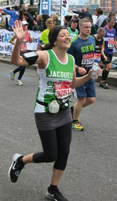 Cow PR came out in force to support account director Jacquelyn Redpath,who completed the gruelling 26.2 miles of the London Marathon in four hours 20 minutes. She raised £1,800 for Epilepsy Research UK.