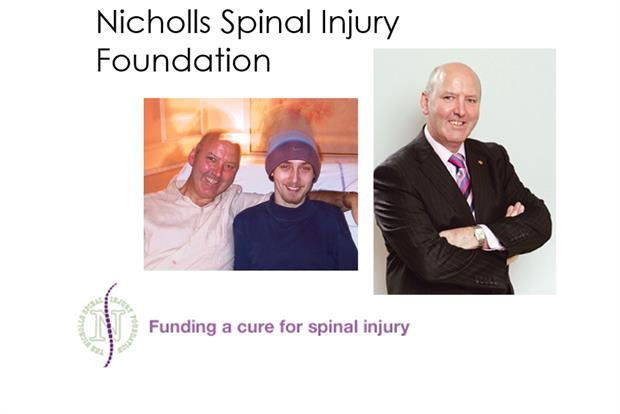 David Nicholls and the Nicholls Spinal Injury Foundation: David set up the foundation when his son broke his neck. His creative approach to fundraising and never taking no for an answer inspire me to think differently and innovate.