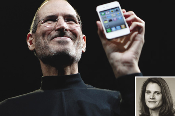 1. Katie Cotton/Steve Jobs