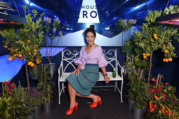 Margherita Maccapani Missoni pictured at The House of Peroni Residency at Proud East in Haggerston