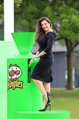 Pringles create edible cloud to launch new campaign