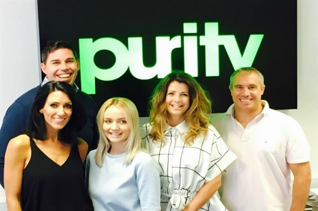 The team at Purity