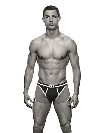 It follows last year's CR7 underwear range