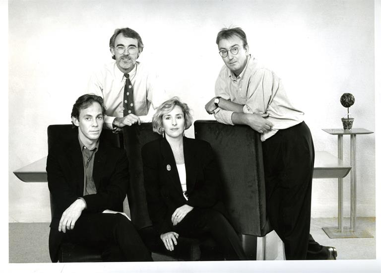 Founding four: (left to right) Campbell, Kelly, Rainey and Roalfe
