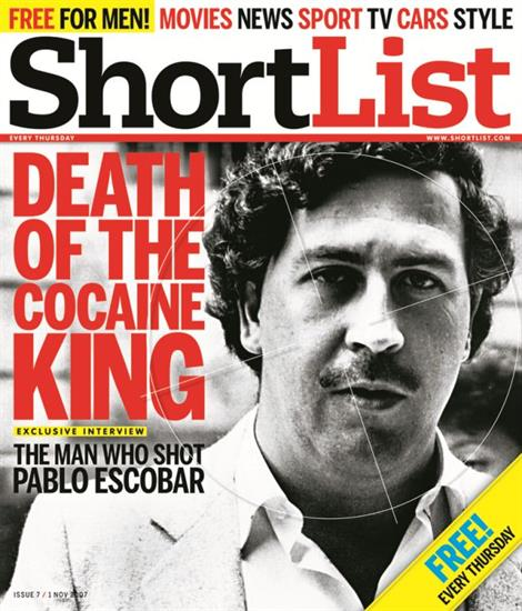 Pablo Escobar – 29th October 2007