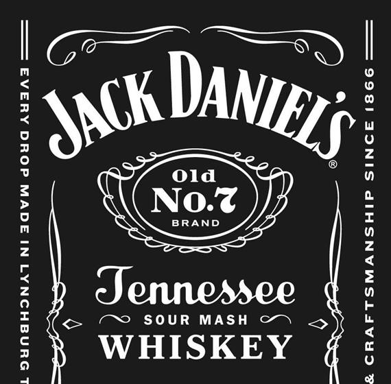 Jack Daniel's iconic label
