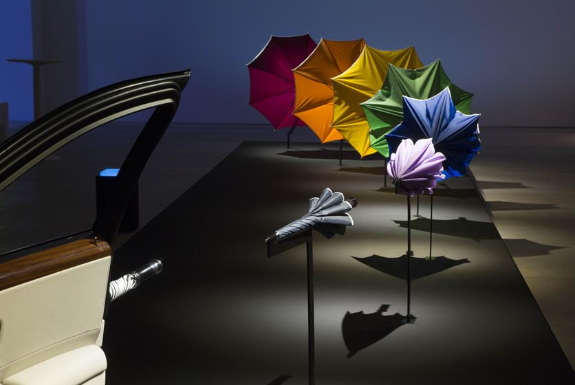 Rolls-Royce plays on the inclusion of a branded umbrella inside every vehicle.
