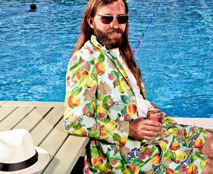 Stella Artois has launched a poolside suit to celebrate its Cidre variants