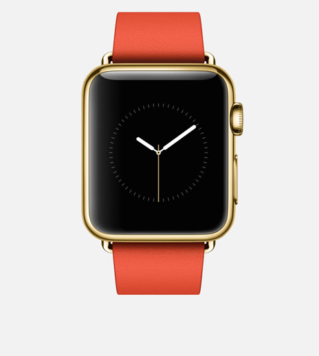 Spot the difference - the Apple Watch