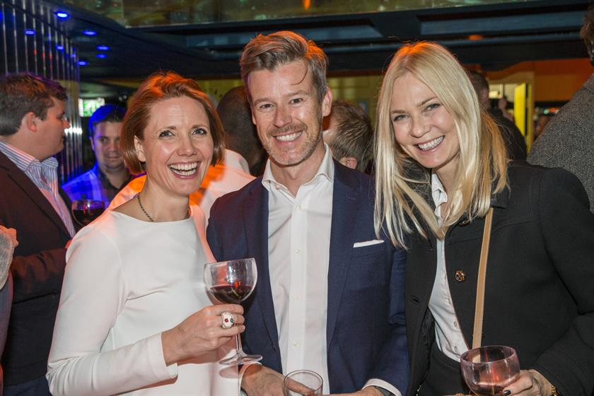 Grey's Natalie Graeme, with Sunshine's Al Maccuish and Cheil's Lotta Malm Hallqvist