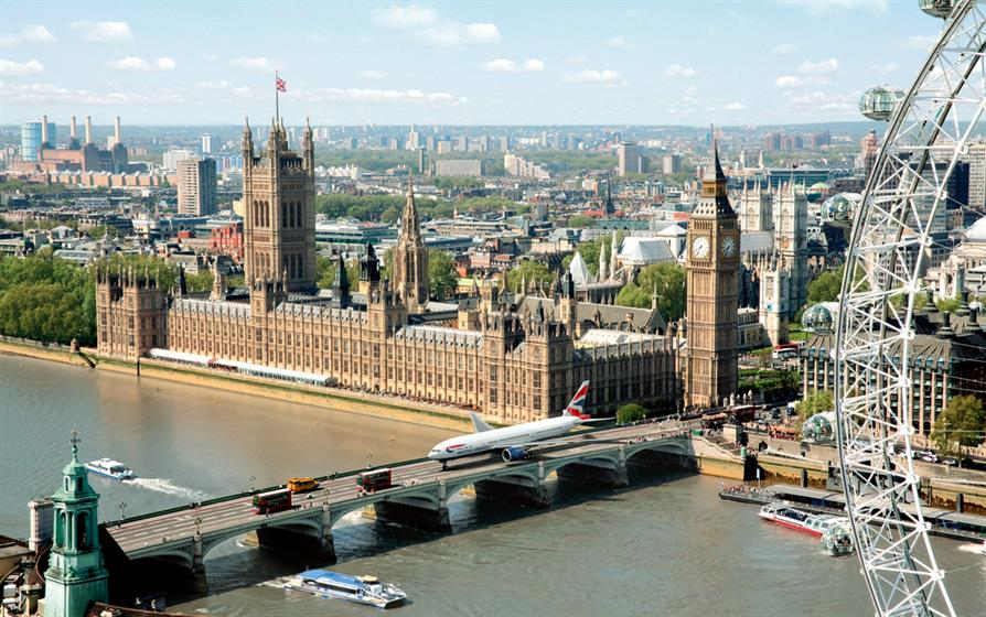 10. The British Airways pitch