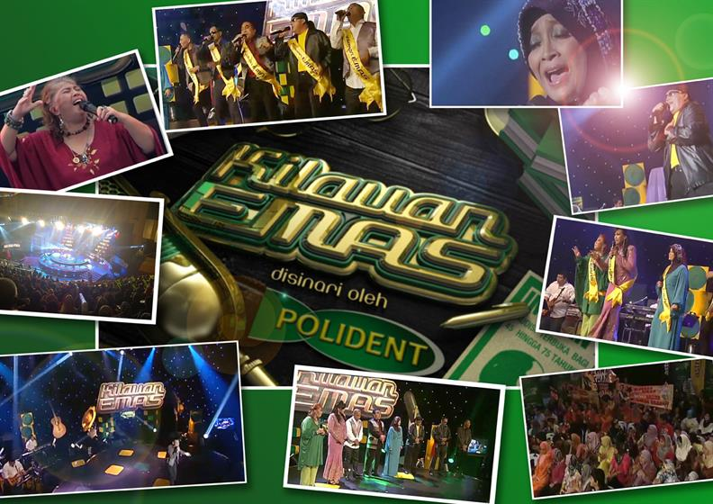 Polident: launched a talent show that became a huge hit