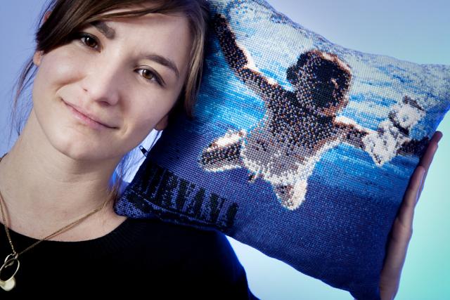 Linda Weitgasser, creative, Saatchi & Saatchi - album cover pillow sleeves