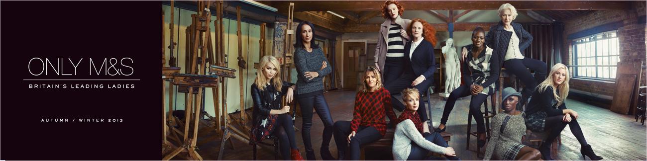 2. Marks & Spencer, 'meet Britain's leading ladies'