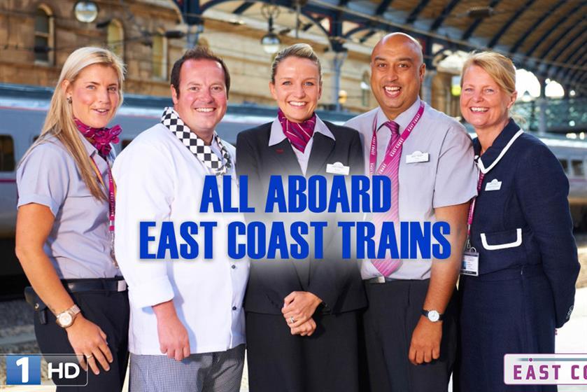 East Coast Trains by Havas Media