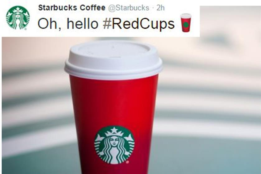 December: Starbucks' beloved red cups, which to some signal the beginning of the festive season, took on emoji form this year. People who use the hashtag #RedCups see an emoji red cup appear in their tweet.