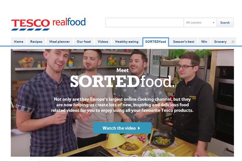 Tesco 'Sorted Food'