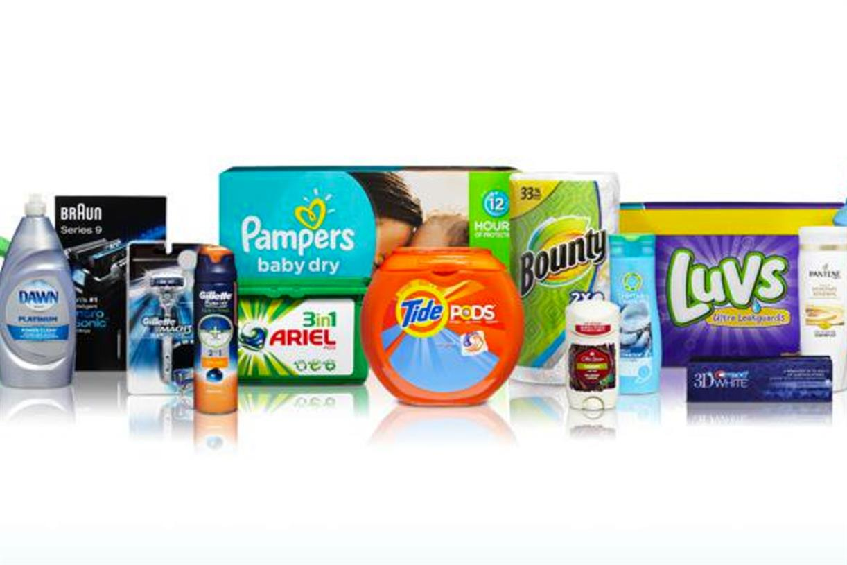 List of Procter & Gamble brands