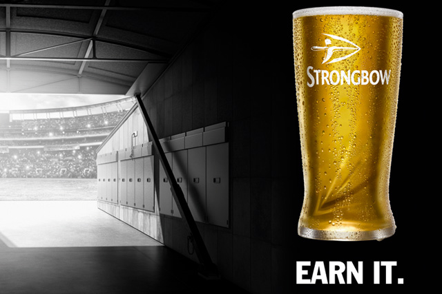 Advertising campaign for strongbow