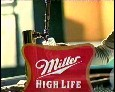 Miller, High Life beer