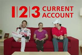 Santander: Jenson Button, Jessica Ennis and Rory McIlroy star in 123 campaign