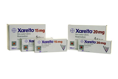 Xarelto 15mg and 20mg tablets should be taken with food