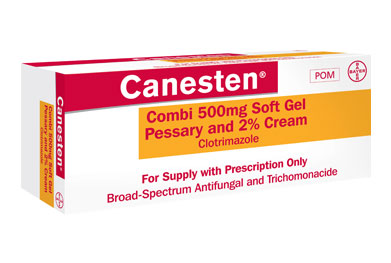 The Soft Gel Pessary and Cream Combi pack adds a new treatment option for women with candidal vaginitis