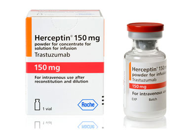 Herceptin (trastuzumab) is also licensed for metastatic breast cancer and certain gastrointestinal tumours